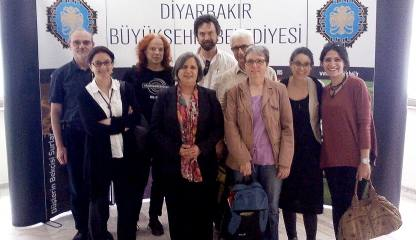 WRI-Delegation in Diyarbakir